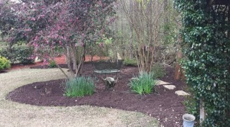 Mulching Your Beds for Natural Looking Landscape